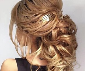 hairstyle, hair, and hair style image