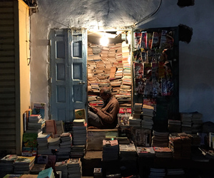 books, library, and escape image