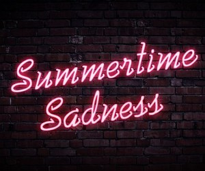 lana del rey, summertime sadness, and pink image