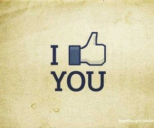 facebook and like image