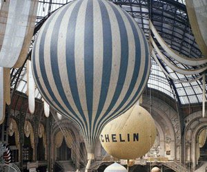 paris, balloons, and vintage image