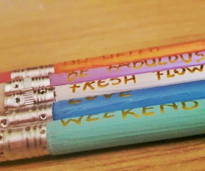 colourful, pencils, and inspirational image