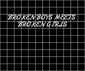 boys, broken, and safety pin image