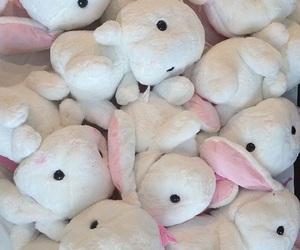 bunny, kawaii, and soft image