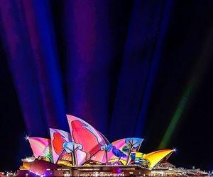 lights, vivid, and Sydney image