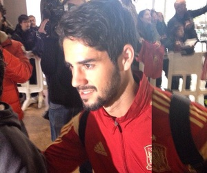 football, spain, and isco image