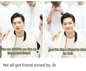 JB, got7, and funny image