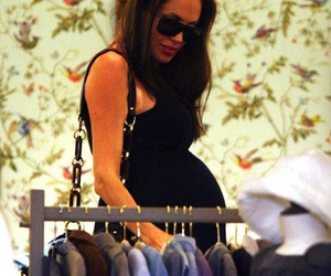 Angelina Jolie, baby, and Brangelina image