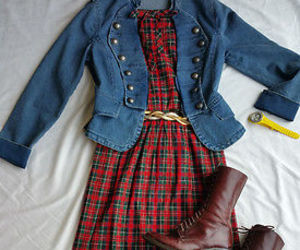 dresses, ebay, and women's vintage clothing image