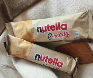 nutella, food, and tan image