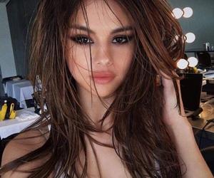 beauty, hair, and selena gomez image