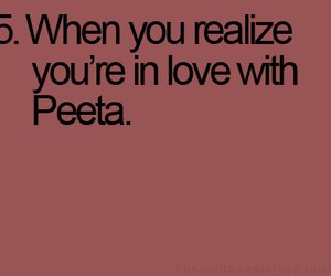 peeta mellark, M, and quotes image