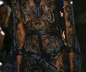 dress, catwalk, and fashion image
