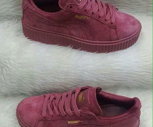 shoes, puma, and sneakers image
