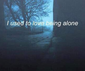 couple, dark, and lonely image