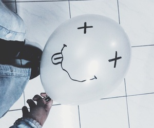 grunge, balloons, and nirvana image