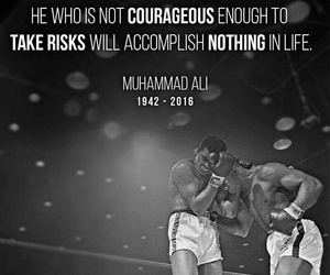 muhammad ali, quotes, and r.i.p image