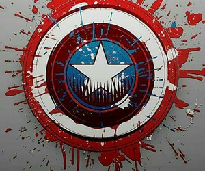 captain america and Marvel image