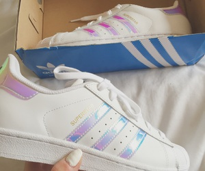adidas, cool, and holographic image