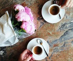 beautiful, romantic, and coffee image