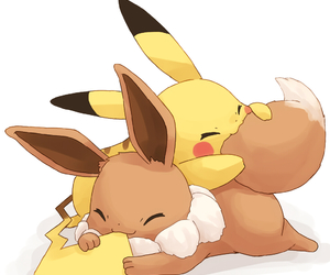 anime, eevee, and kawaii image