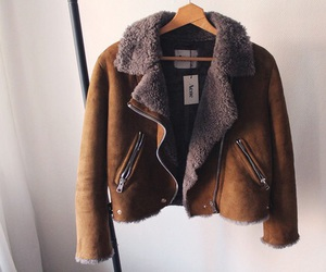 fashion, jacket, and acne image