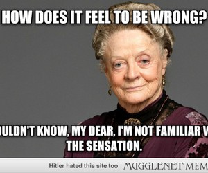 english, maggie smith, and upper class image