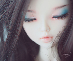 doll, girl, and pretty image