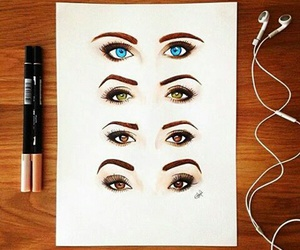 brown, eyes, and realistic image