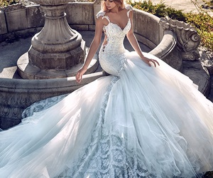 fashion, princess, and white image