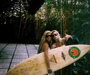 blond, blondie, and surf image