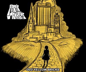 arctic monkeys and old yellow bricks image