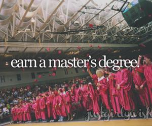 graduate, graduation, and college image
