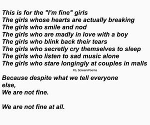 alone, crush, and sad image
