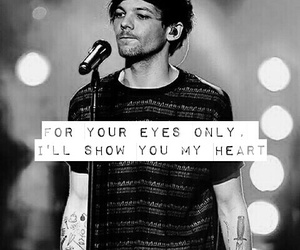 louis, if i could fly, and one direction image