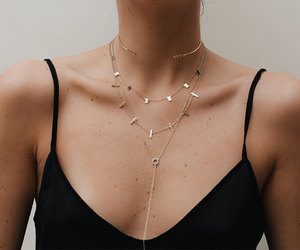 etsy, necklaces, and delicate necklace image