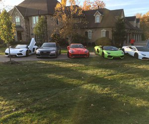 cars, squad goals, and classy image