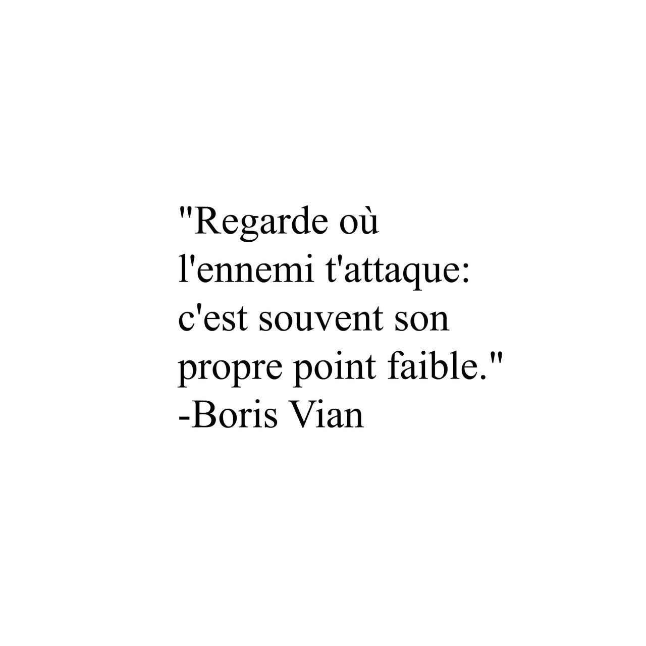 Citation De Boris Vian Uploaded By Berhautwald