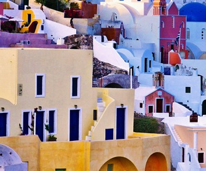 Greece, house, and colors image