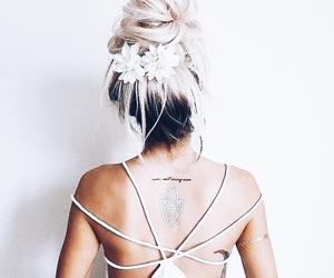 bun, clothes, and fashion image