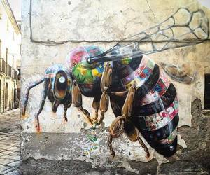 street art and louis masai image