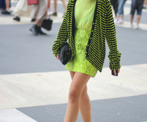 color, fluor, and fashion image