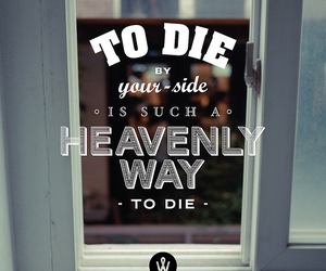 the smiths, die, and to die by your side image