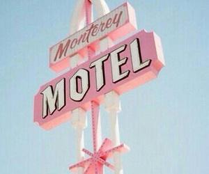 pink, pastel, and motel image