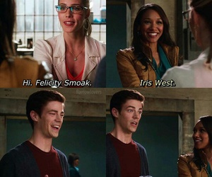 funny, the flash, and barry allen image