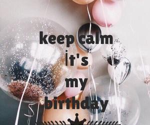 birthday, calm, and keep image