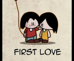 love, first love, and first image
