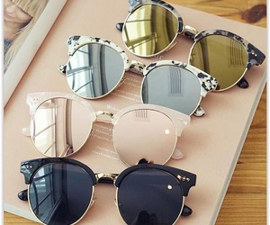 sunglasses, style, and summer image
