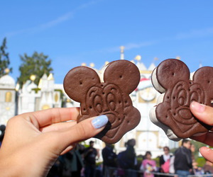 disney, chocolate, and disneyland image