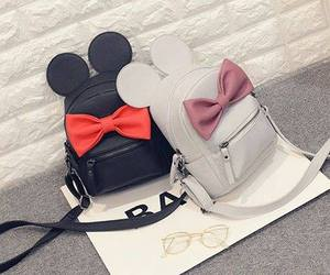 bag, black, and mickey image